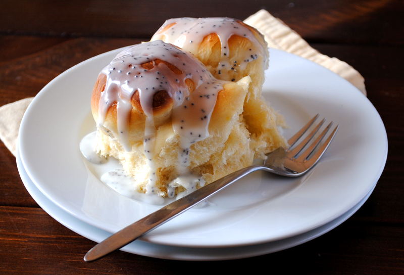 Lemon Poppy Seed Rolls